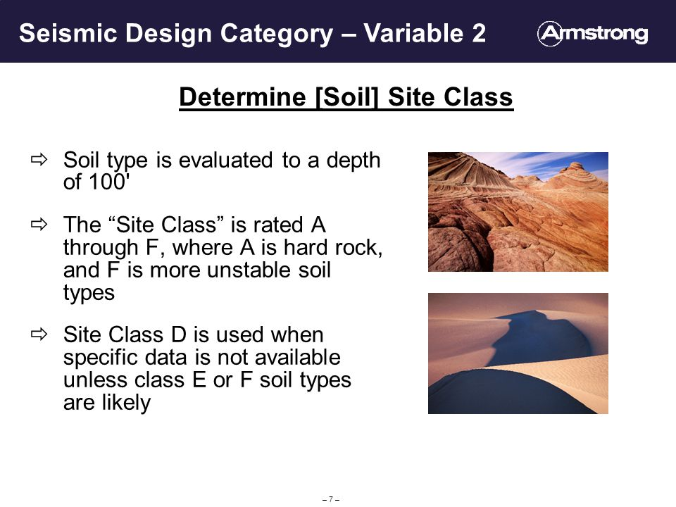 Determine [Soil] Site Class
